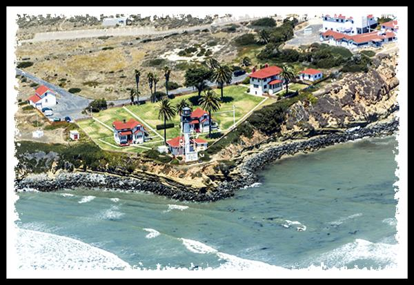 New Point Loma Lighthouse from San Diego Sky Tours