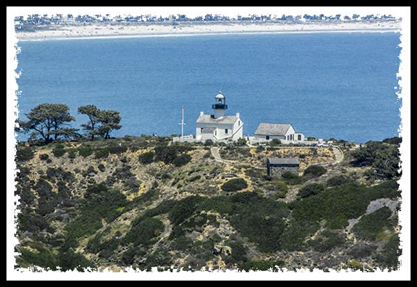 Old Point Loma Lighthouse from San Diego Sky Tours