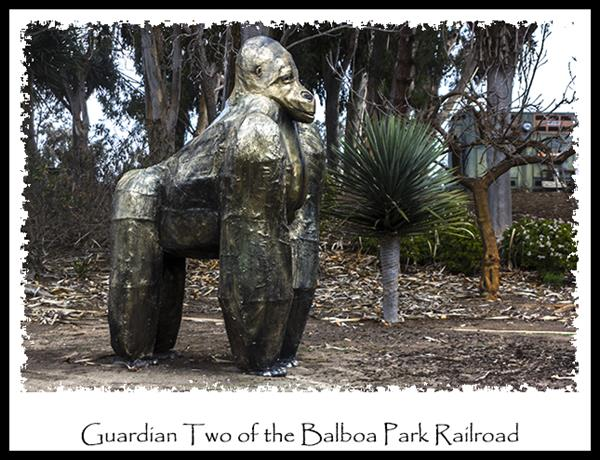 Balboa Park Railroad in San Diego