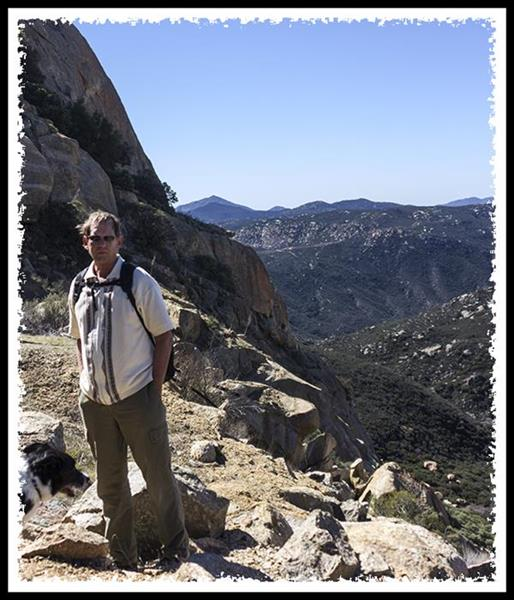 Russel Ray at Lake Morena County Park in Cleveland National Forest