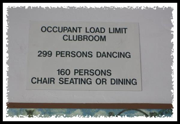 Occupant load limit