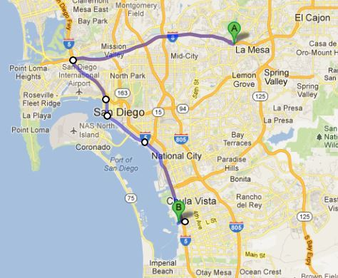 south bay san diego map Implosion Video Of The South Bay Power Plant In San Diego Russel