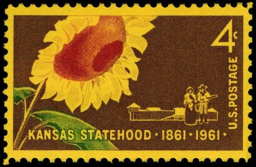Scott #1183 Kansas Statehood
