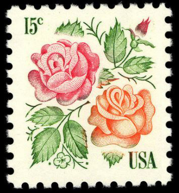 Scott #1737 Roses