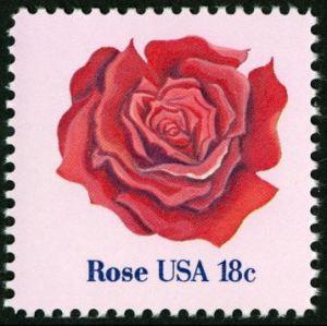 Scott #1876 Rose