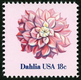 Scott E1878 Dahlia