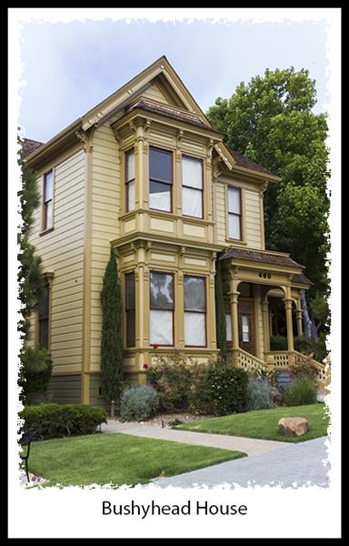 Bushyhead House in San Diego's Heritage Park