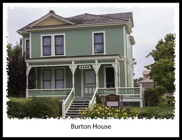 Burton House in San Diego's Heritage Park