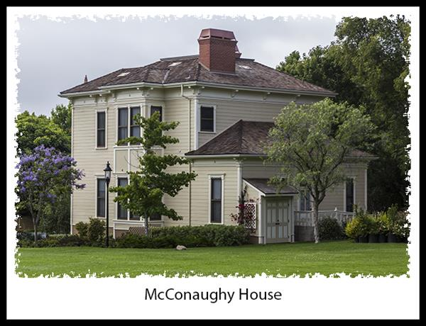McConaughy House in San Diego's Heritage Park