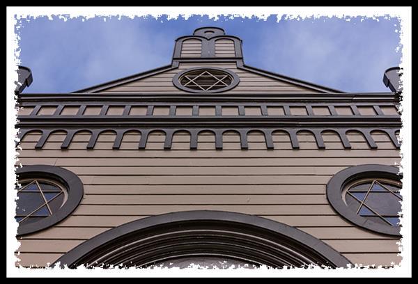 Temple Beth Israel in Heritage Park in San Diego California