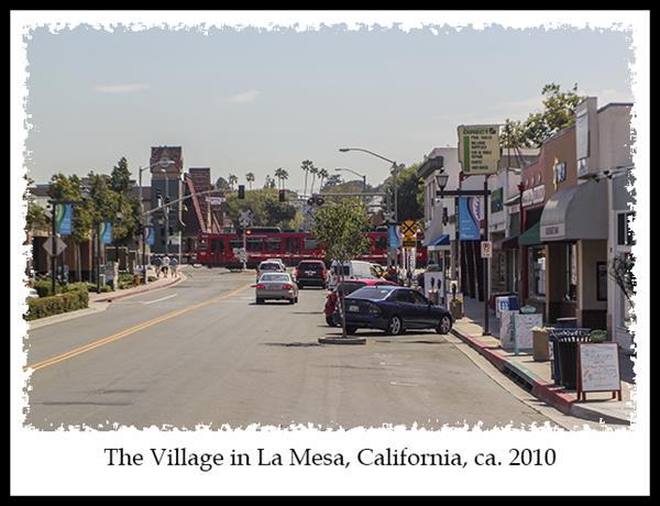 Then Amp Now The Village In La Mesa California Russel