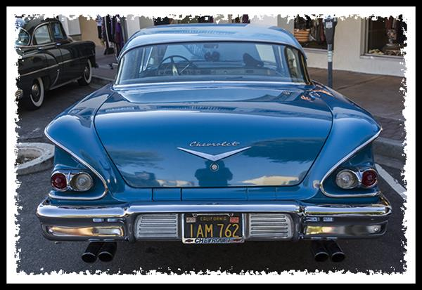 Classic Car Cruise in The Village, La Mesa, California