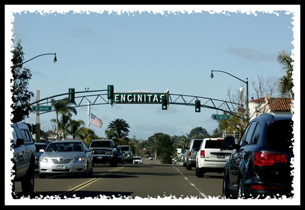 Encinitas neighborhood sign