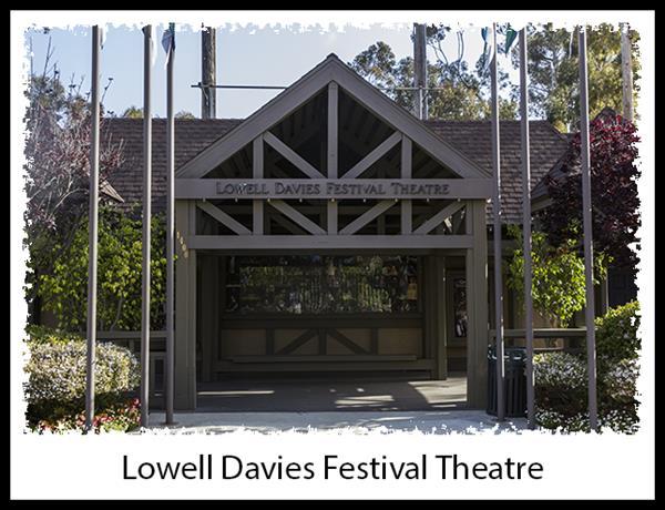Lowell Davies Festival Theatre in Balboa Park in San Diego