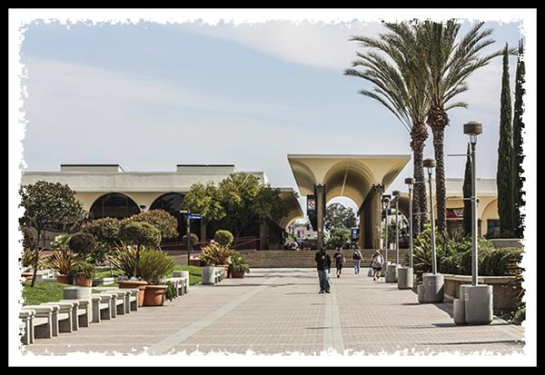 Old student center at San Diego State University