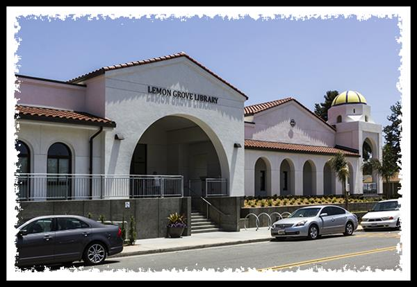 New library in Lemon Grove, California