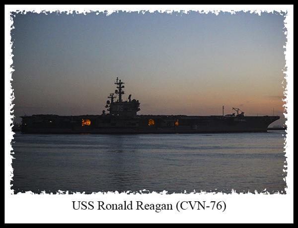 USS Ronald Reagan in San Diego
