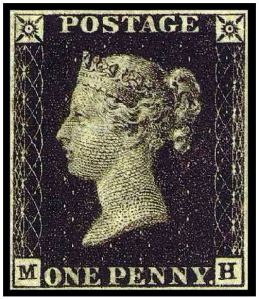 British Penny Black