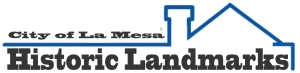 City of La Mesa Historic Landmarks logo