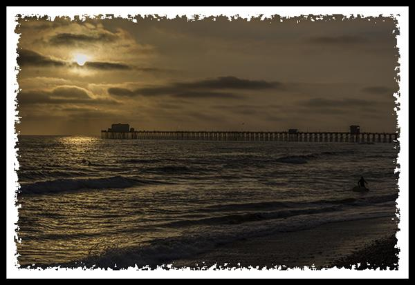 Pier in Oceanside, California
