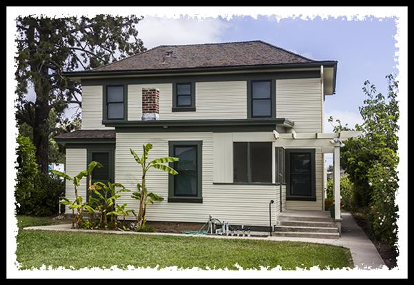 Historic McKinney House in La Mesa, California