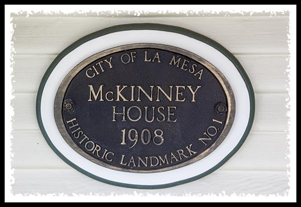 City of La Mesa Historic Landmark #1