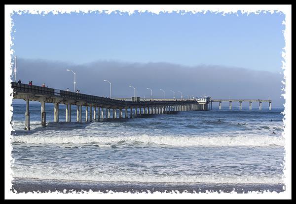 Ocean Beach pier, San Diego California
