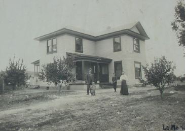 Mckinney House in La Mesa, California, ca 1910