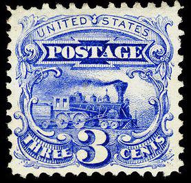 Scott #114 Locomotive