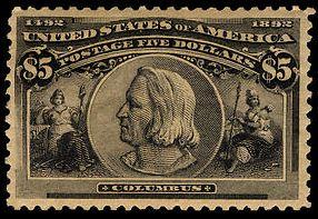 Scott #245 Christopher Columbus