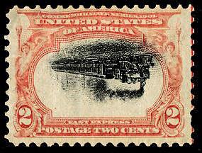 Scott #295a Empire State Express