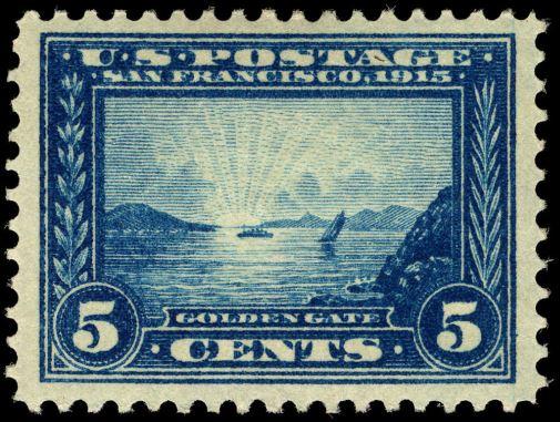 Scott #399 Golden Gate