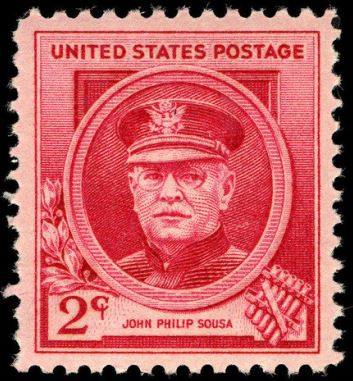 Scott #880 John Philip Sousa