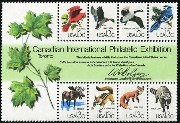 Scott #1757 Canadian International Philatelic Exhibition