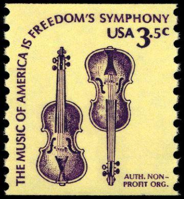 Scott #1813 Violins