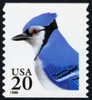 Scott #2483 Blue Jay