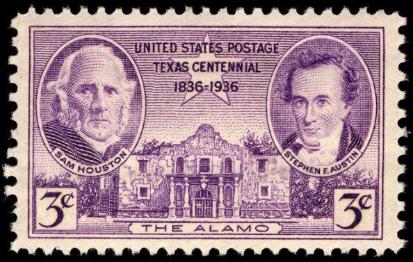 Scott #776 Texas Centennial