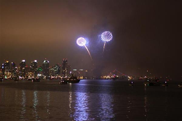 2011 San Diego Big Bay Boom fireworks show