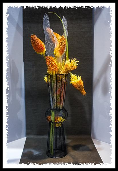 Floral arrangement at the 2013 San Diego County Fair