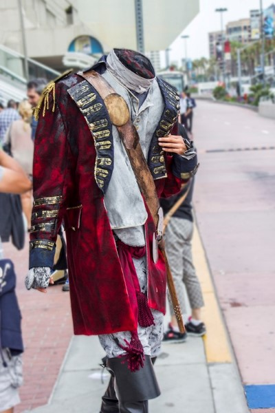 Headless Horseman at 2014 Comic Con International
