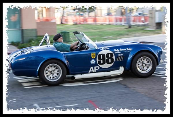 Shelby race car