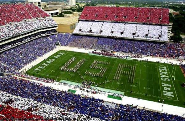 Texas Aggie football game after 9/11