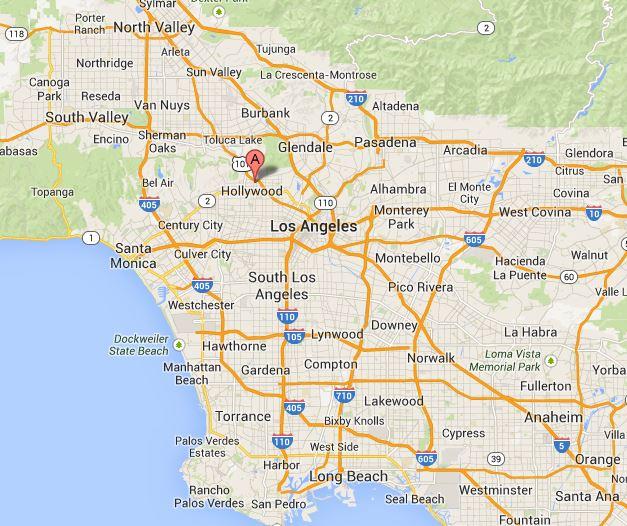 Hollywood Karte