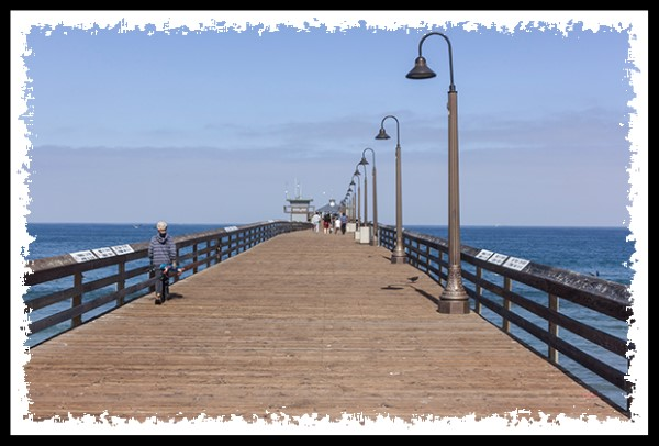 The pier at the beach