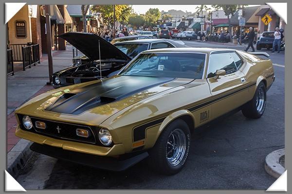 Classic Car Cruise in La Mesa, California, Summer 2013