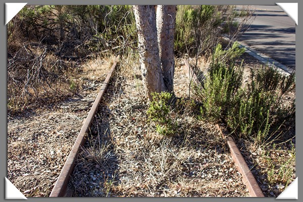 Railroad track obstruction