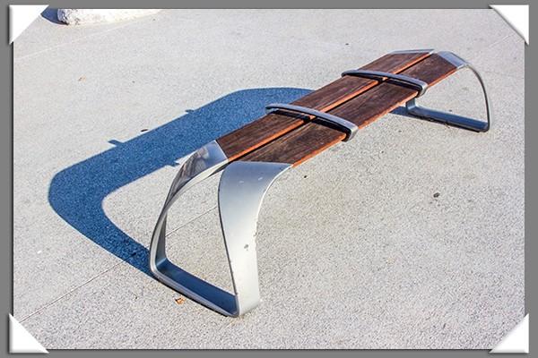 Unused bench