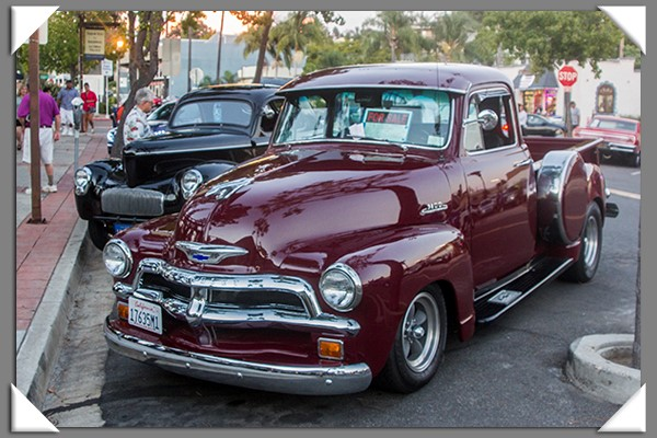 2013 Back to the '50s classic car cruise in La Mesa, California