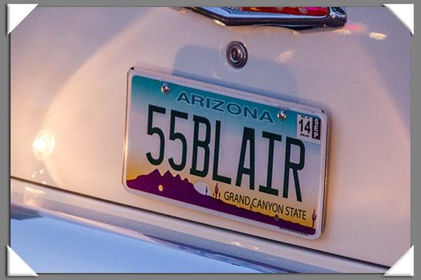 2013 Back to the '50s classic car cruise in La Mesa, California