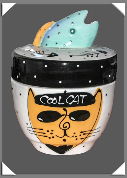 Zoey the Cool Cat's Cool Cat jar